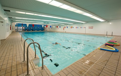 Gardyne swimming pool