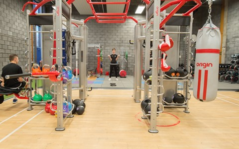 Gardyne gym equipment