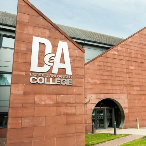 Dundee and Angus College – CALC Building, Arbroath Campus
