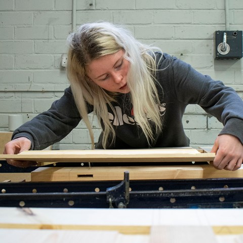 joinery student