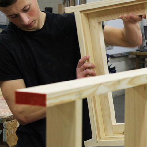 joinery students