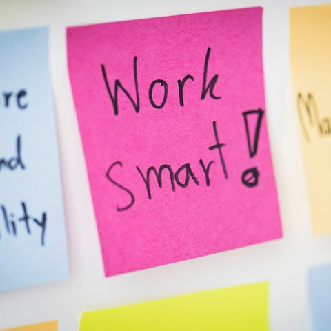 post it notes – work smart