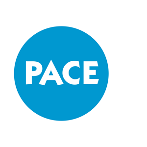 The Dundee and Angus Logo beside the PACE logo